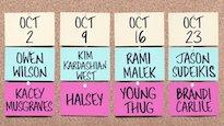 Kim Kardashian, Owen Wilson, Jason Sudeikis, Rami Malek to Host 'SNL'