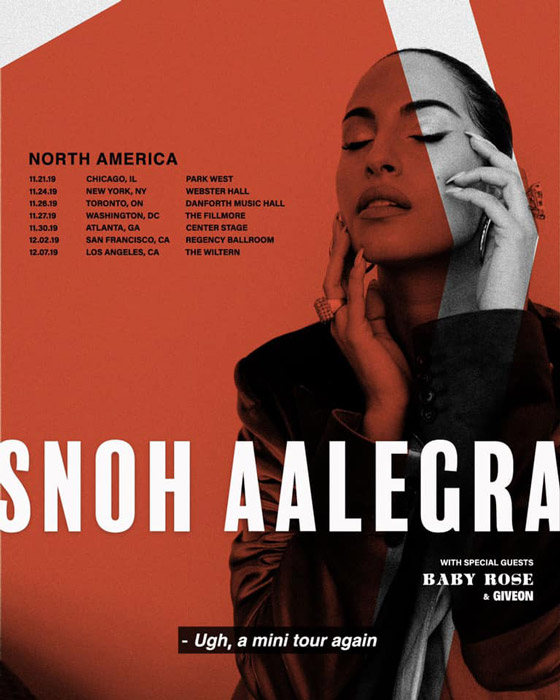 Snoh Aalegra to Play Toronto on North American Tour