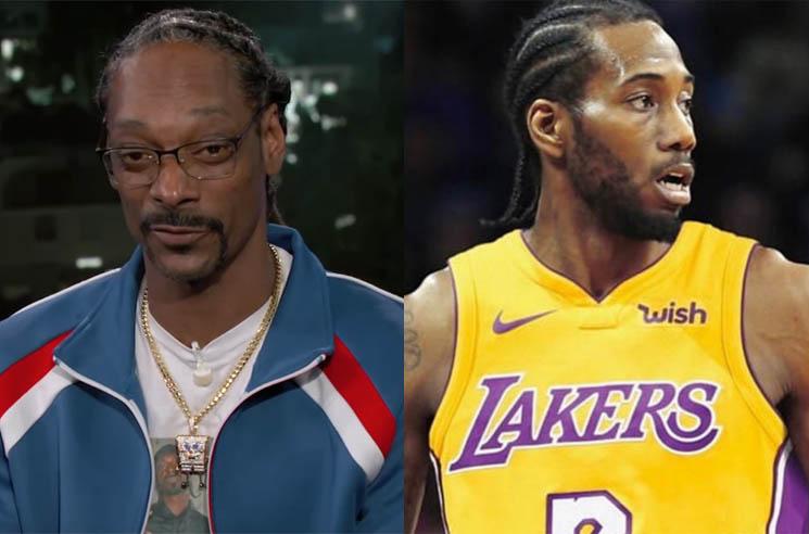 Snoop Dogg Wants the Toronto Raptors' Kawhi Leonard to Play for the L.A. Lakers
