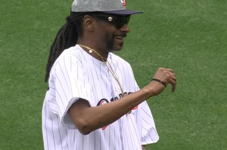 ​Watch Snoop Dogg's Terrible First Pitch at a Padres Game