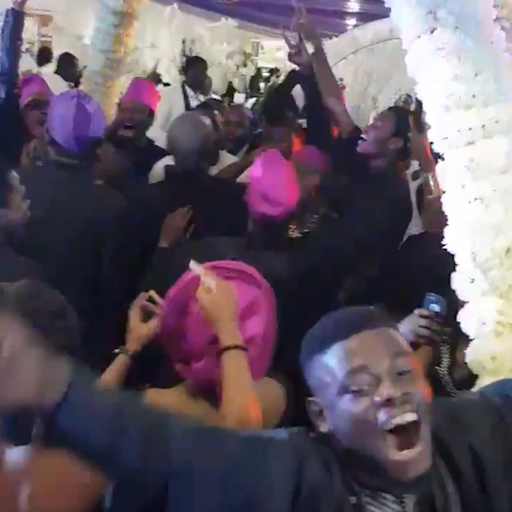 Watch Guests at a Nigerian Wedding Lose Their Minds to System of a Down's 'Toxicity'