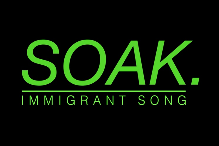 "SOAK ""Immigrant Song"" (Led Zeppelin cover)"