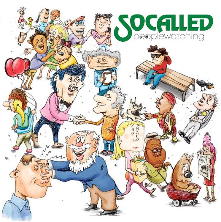 Socalled 'Peoplewatching' (album stream)