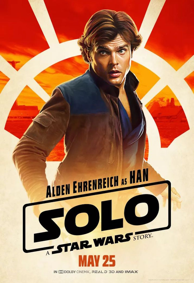Han Solo Actor Alden Ehrenreich Says He's Signed on for Three 'Star Wars' Movies