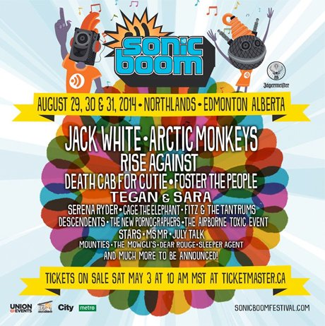 Edmonton's Sonic Boom Fest Brings Out Rise Against, Death Cab for Cutie, Jack White