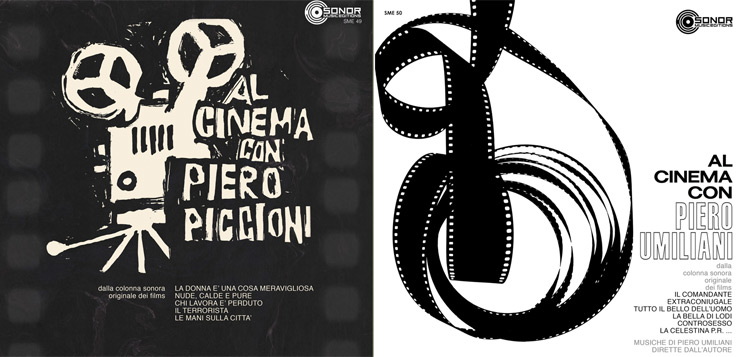 Piero Umiliani and Piero Piccioni's Legendary RCA SP Series Releases Unearthed by Sonor