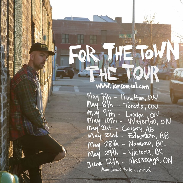 SonReal Maps Out Spring Canadian Tour