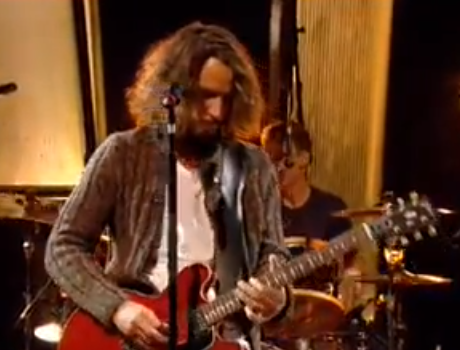 Soundgarden 'Rusty Cage' (live on 'Jools Holland')