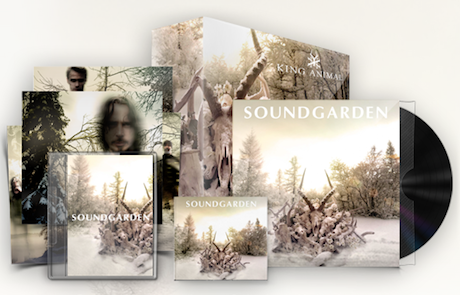 Soundgarden Detail Deluxe Box Set Edition of 'King Animal,' Announce Toronto Show