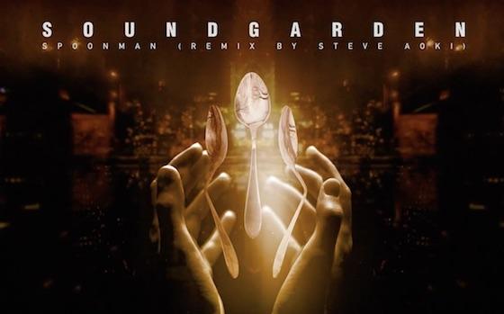 "Steve Aoki Shares Godawful EDM Remix of Soundgarden's ""Spoonman"""