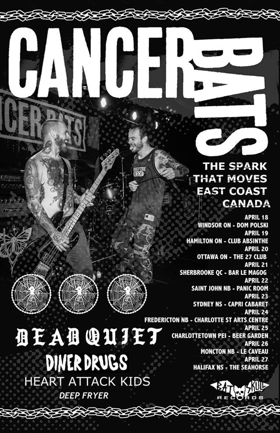 Cancer Bats Share New Song, Plot Eastern Canada Tour