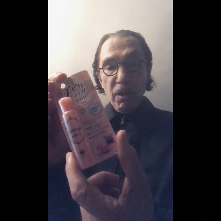 Watch Sparks' Ron Mael Show Off His Hand Sanitizer Collection