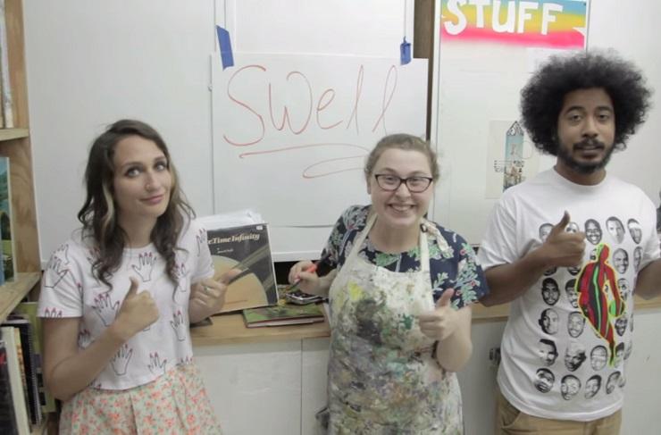 "Speedy Ortiz ""Swell Content"" (video)"
