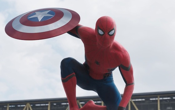 Here's Your First Look at the New Spider-Man