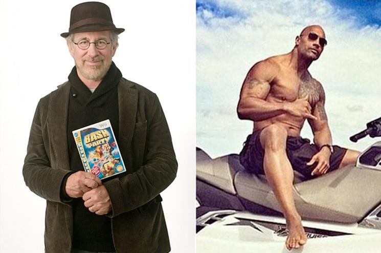 Dwayne 'The Rock' Johnson Shares Fan Letter from Steven Spielberg