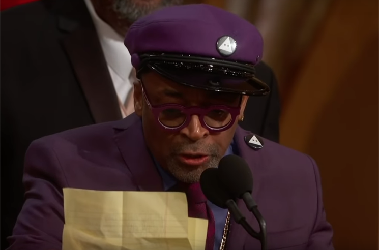 Donald Trump Didn't Like Spike Lee's Oscar Acceptance Speech
