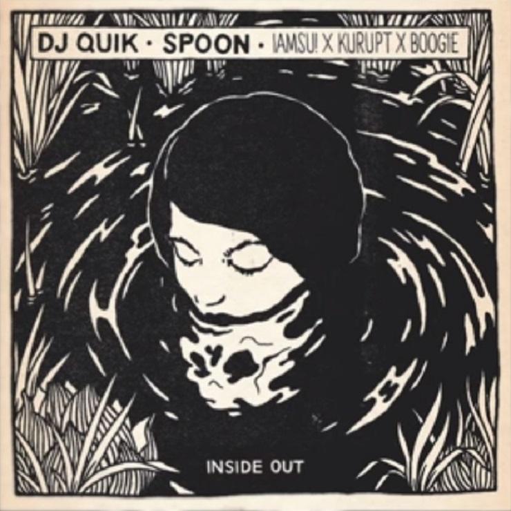"Spoon ""Inside Out"" (DJ Quik remix ft. Iamsu!, Kurupt, Boogie)"