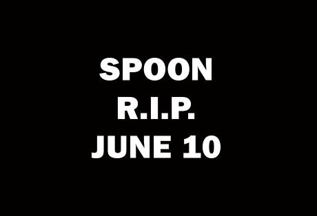 "Spoon Post Cryptic ""R.I.P."" Photo"