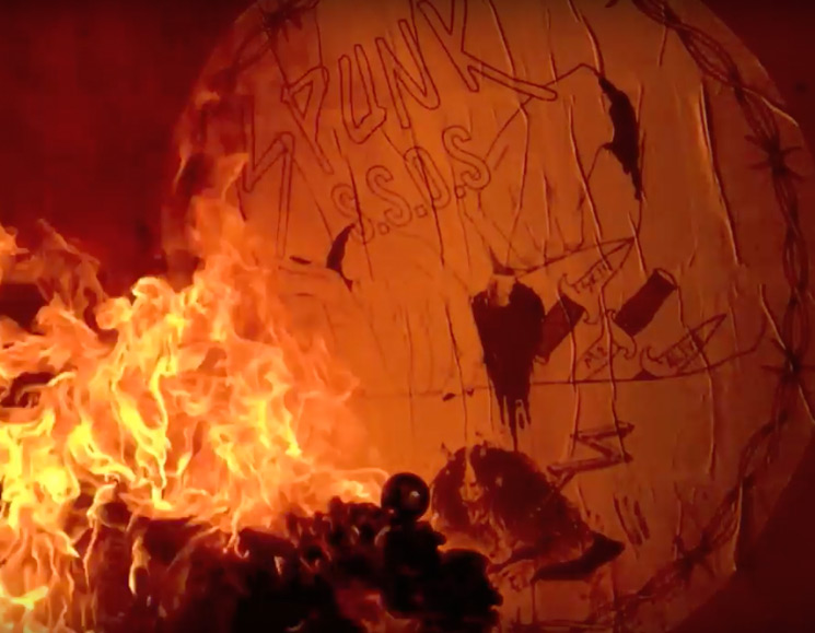 "Watch a Fiery Video for Spunk's New Song ""Magic H8 Ball"""