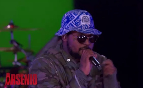 "Schoolboy Q ""Man of the Year"" (live on 'Arsenio')"
