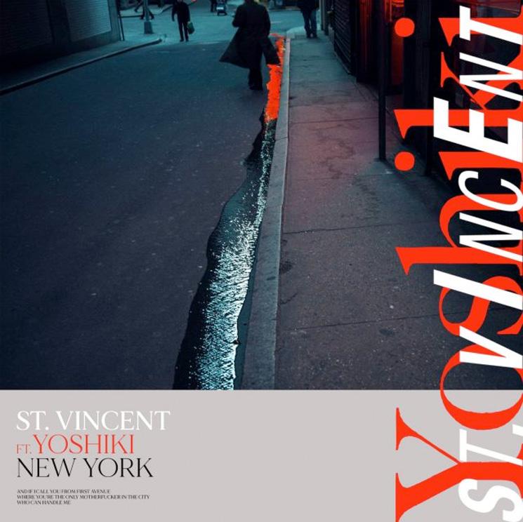 St. Vincent Gets X Japan Legend Yoshiki for 'New York' Rework