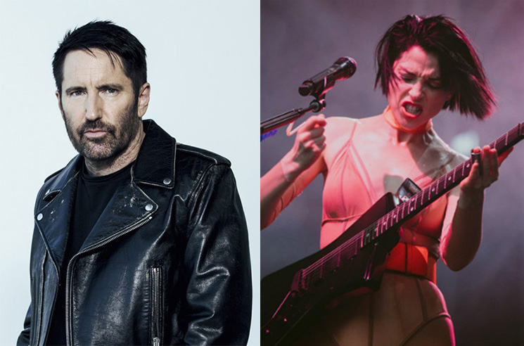 Hear St. Vincent Cover Nine Inch Nails' 'Piggy'