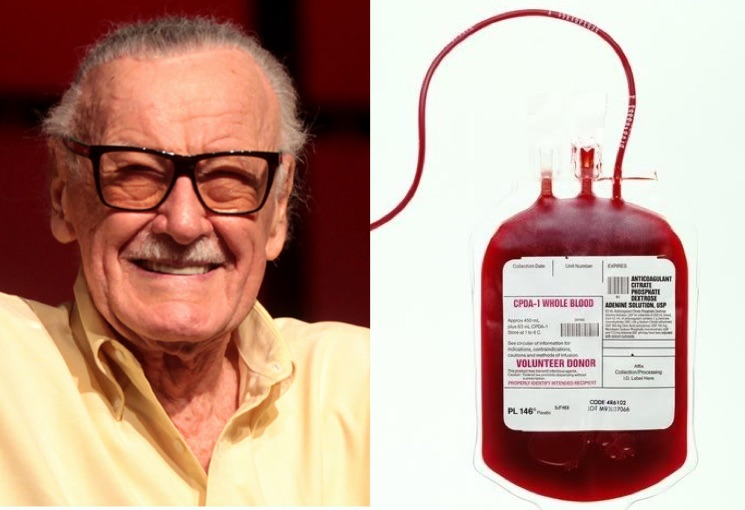 Stan Lee's Business Associate Allegedly Stole His Blood