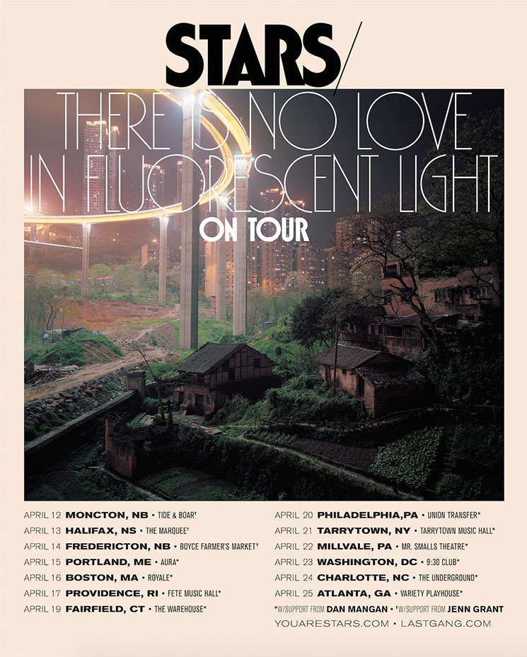 Stars Reveal North American Tour