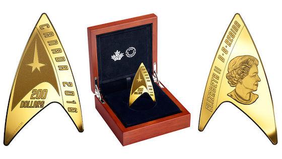 This 'Star Trek' Coin Is Legal Tender