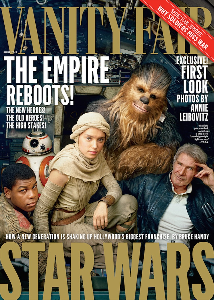 New Photos Emerge from 'Star Wars: The Force Awakens'