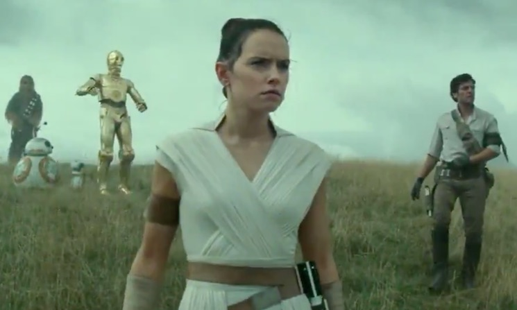 Watch the First Teaser for 'Star Wars: The Rise of Skywalker'
