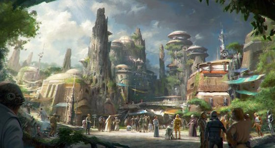 Disney's Star Wars Land Will Open in 2019
