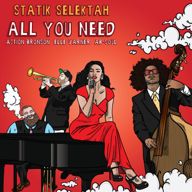 "Statik Selektah ""All You Need"" (ft. Action Bronson, Elle Varner & Ab-Soul)"