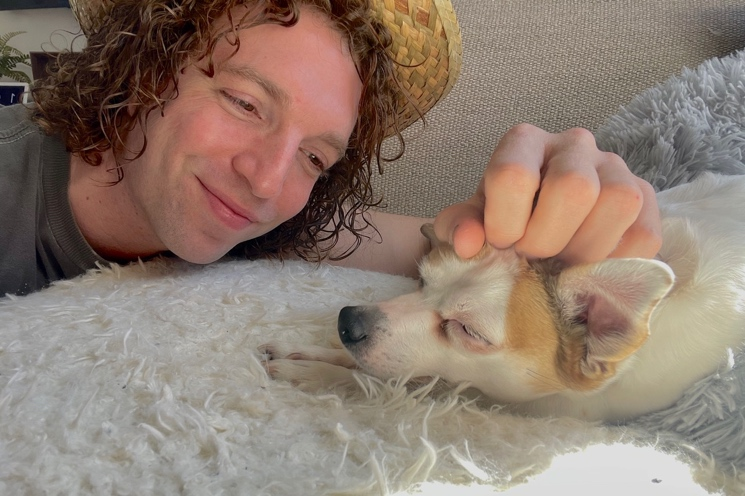 Steve Bays on How His '24/7 Stoked' Dog Sets the Mood in the Studio