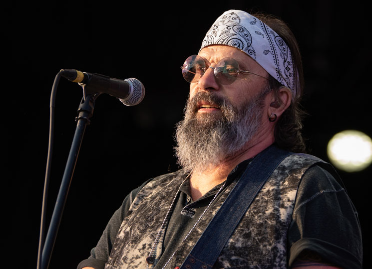Steve Earle and the Dukes CityFolk Festival, Ottawa ON, September 12
