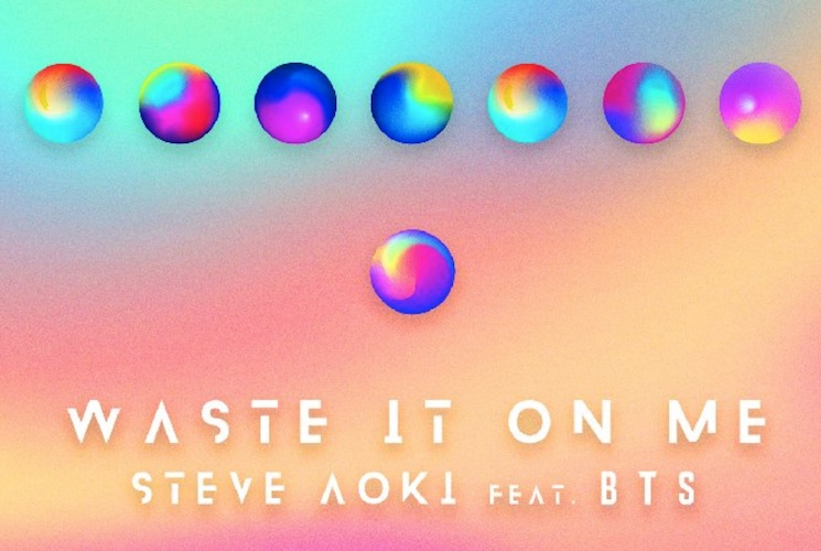 Listen to Steve Aoki's New Track with BTS