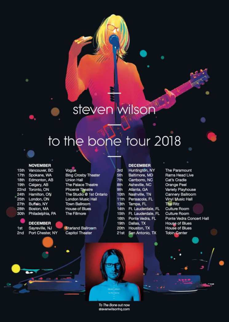 ​Steven Wilson Maps Out North American Tour