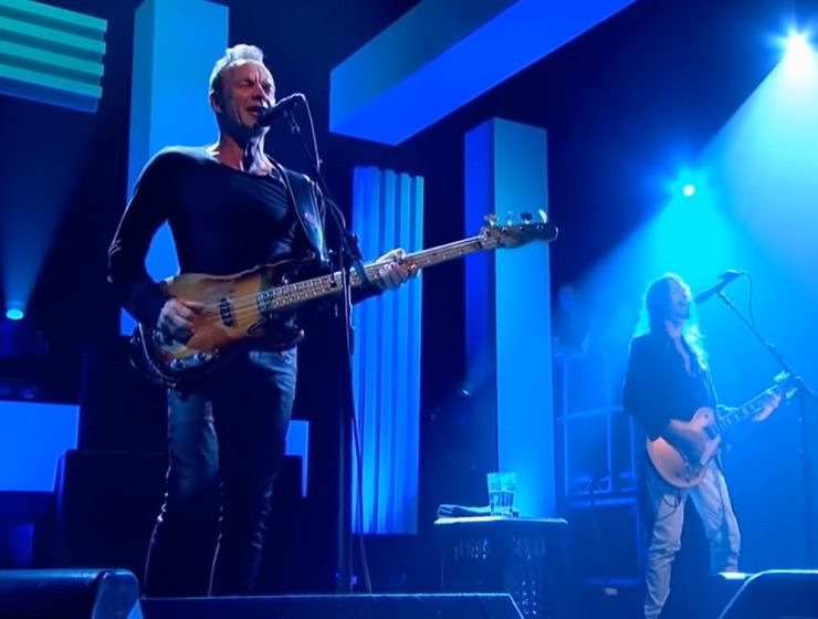 "Sting ""50,000"" (live on 'Jools Holland')"