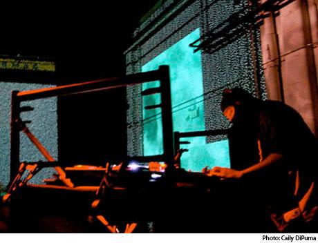 DJ Stingray 313 Centre for Digital Media, Vancouver, BC, September 14