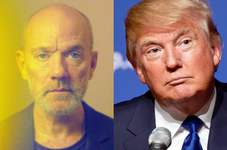 ​R.E.M.'s Michael Stipe Told Donald Trump to Shut Up at a Patti Smith Concert
