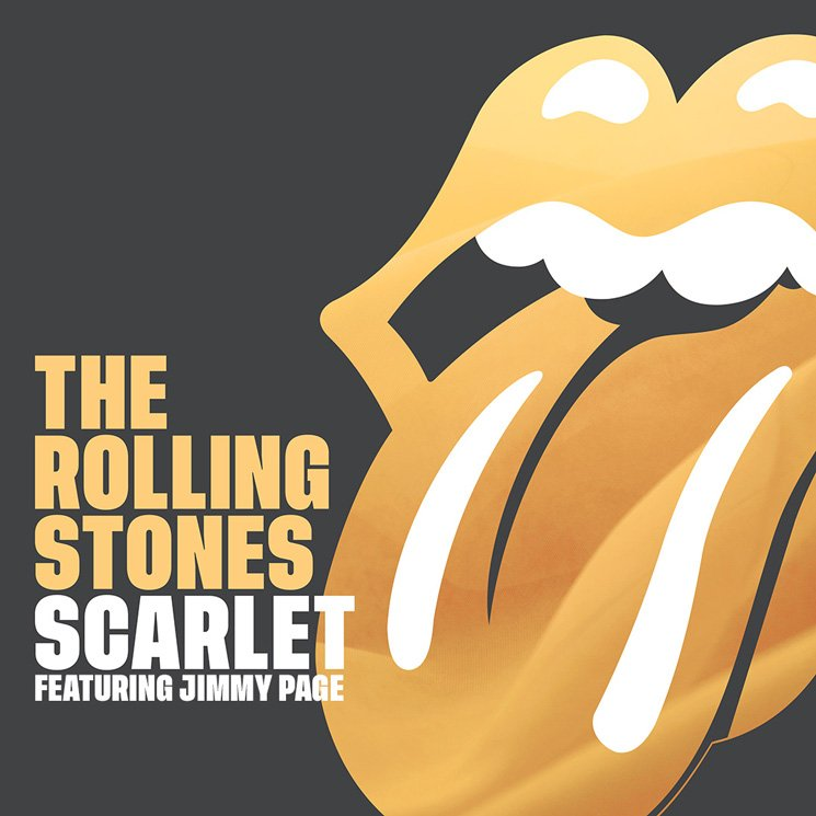Hear the Rolling Stones and Jimmy Page Collide on 'Scarlet'