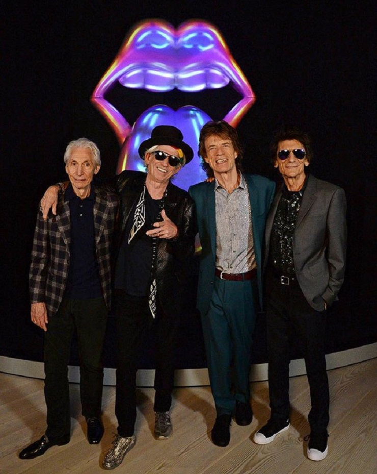 "Keith Richards Says the Rolling Stones will Record New Material ""Very Shortly"""