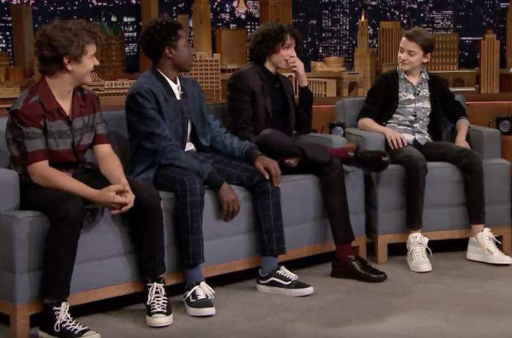 ​The Kids from 'Stranger Things' Spent Halloween Watching 'High School Musical'
