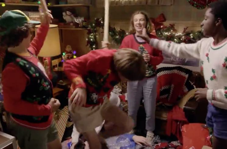 ​Watch the Kids from 'Stranger Things' Wrap Christmas Presents for Fans