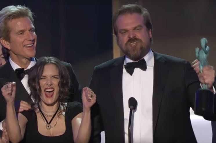 ​SAG Awards Winners Speak Out: 'Stranger Things,' 'Moonlight' and 'Hidden Figures' Stars Make Powerful Speeches