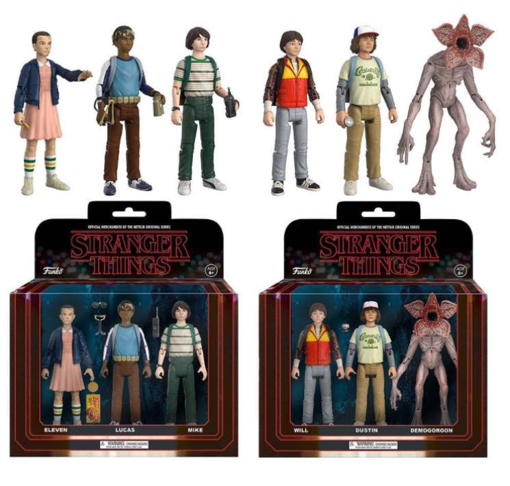 ​The Kids from 'Stranger Things' Have Been Turned Into Action Figures