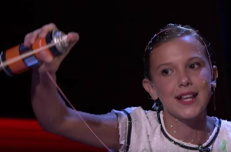 "​Watch Millie Bobby Brown from 'Stranger Things' Kill Nicki Minaj's ""Monster"" Verse"