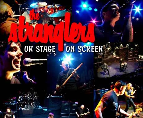 The Stranglers On Stage On Screen