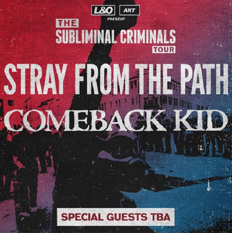 Stray From the Path Announce North American Tour with Comeback Kid