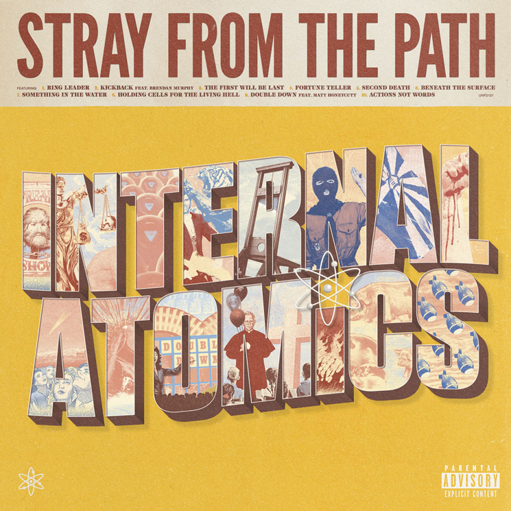 Stray From the Path Announce New Album 'Internal Atomics'